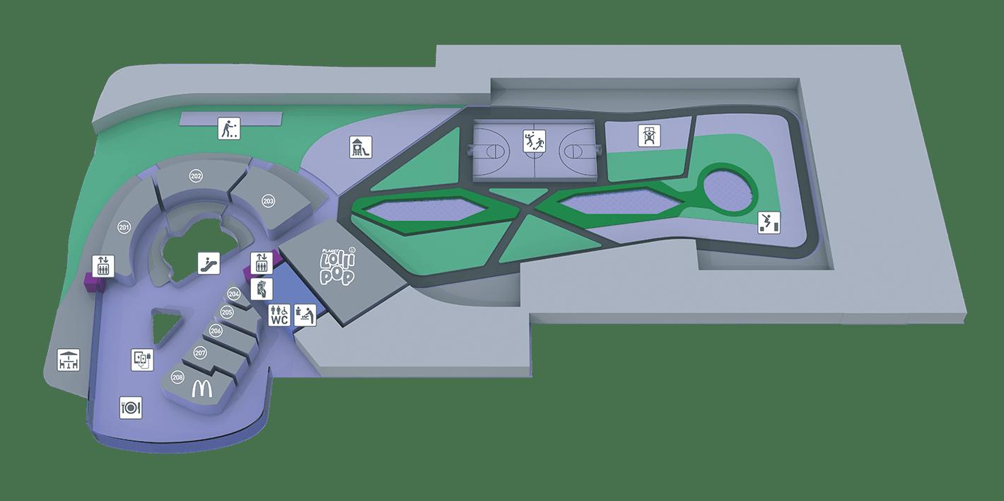 Aktivna streha in gostinske površine
